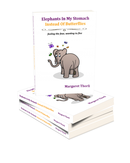 Elephant in my stomach book cover